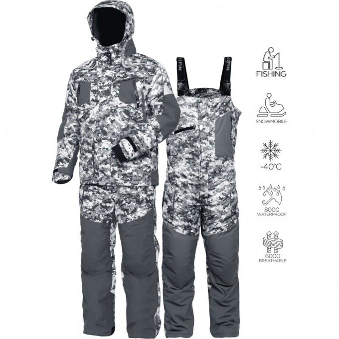 Костюм зимний  EXPLORER CAMO 01 р.S 340101-S