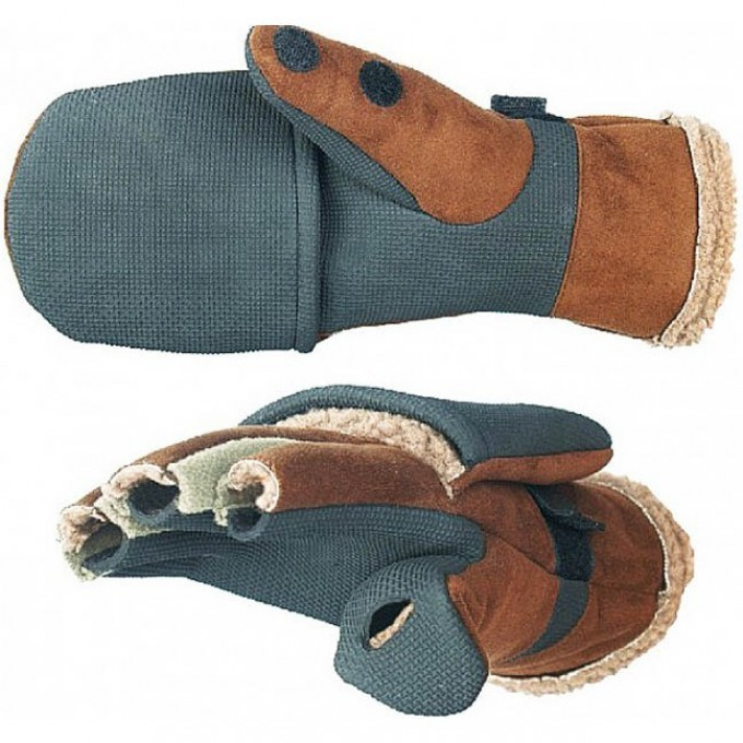 Перчатки-варежки  AURORA ветрозащитные р.XL 703025-XL