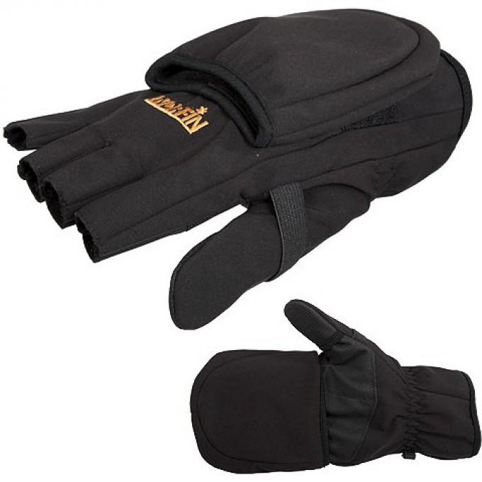 Перчатки-варежки  SOFTSHELL флисовые р.L 703061-L