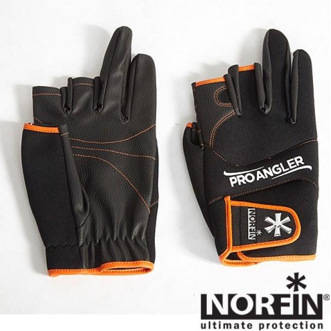 Перчатки  PRO ANGLER 3 CUT GLOVES 04 р.XL 703059-XL